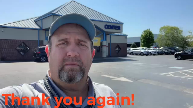 Thank you from Chris.  MyCarGuyChrisYancey.com
